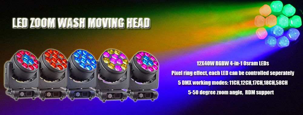 RGB LED Stage Light