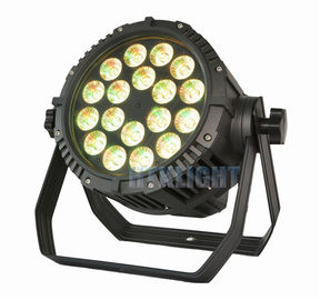 China 18x12W RGBWA Outdoor Led Par Lights supplier