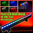 Waterproof LED Wall Washer Lights RGB 3in1 With 10 Editable Programs