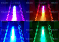 High Velocity Vertical LED Fog Machine With Lights Manul Control Mode