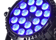 60Hz Waterproof RGB LED DJ Lights DMX512 45 Degree Beam Angle 2 Years Warranty