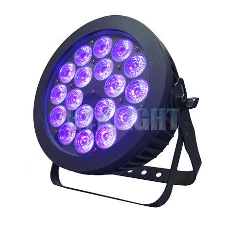 18x18w RGB Dmx Par Can Lights Color Mixing Waterproof Stage Wash Lighting