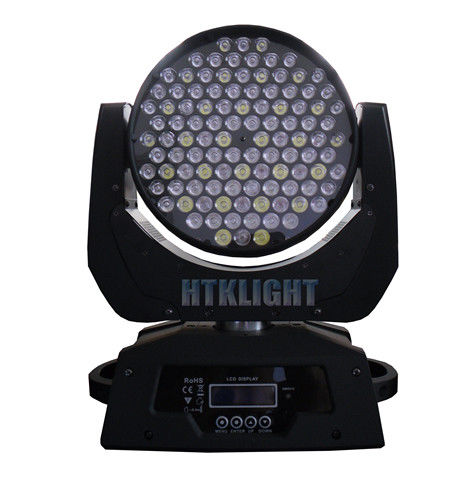 108x3W LED Wash Moving Head RGBW Stage Light 12 DMX Channels , 8 Onboard Programs
