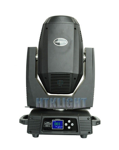 300W Led Moving Head Wash Light , Stage Lighting Moving Heads 7 Colors Color Wheel