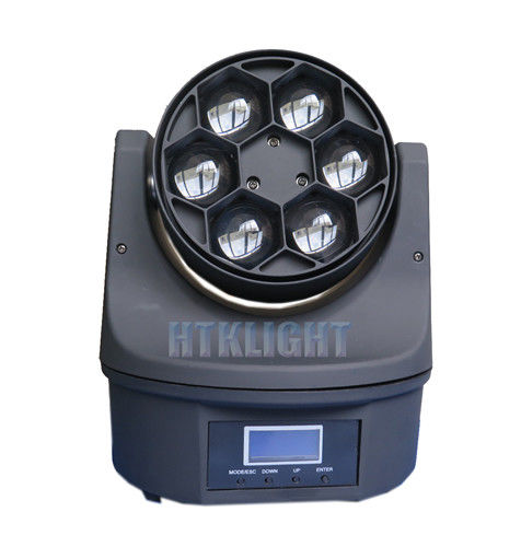 Bee Eye Beam Moving Head Light 10 Degree Beam Angle , 6 Pcs 15W High Brightness LED