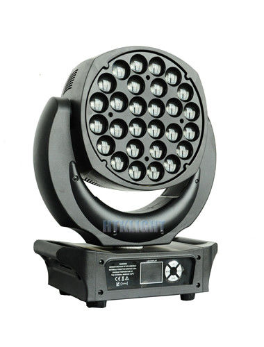 28x25W 4in1 Moving Head Dj Lights 5 Degree -60 Degree Electronic Zoom Range