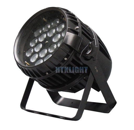 18x10W 5 In 1 Waterproof LED Par Light With Die Cast Aluminum Housing