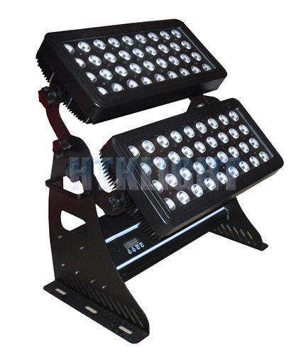 72x8W RGBW 4in1 LED Wall Washer Lights Perfect Color Mixing , No RGB Shadows