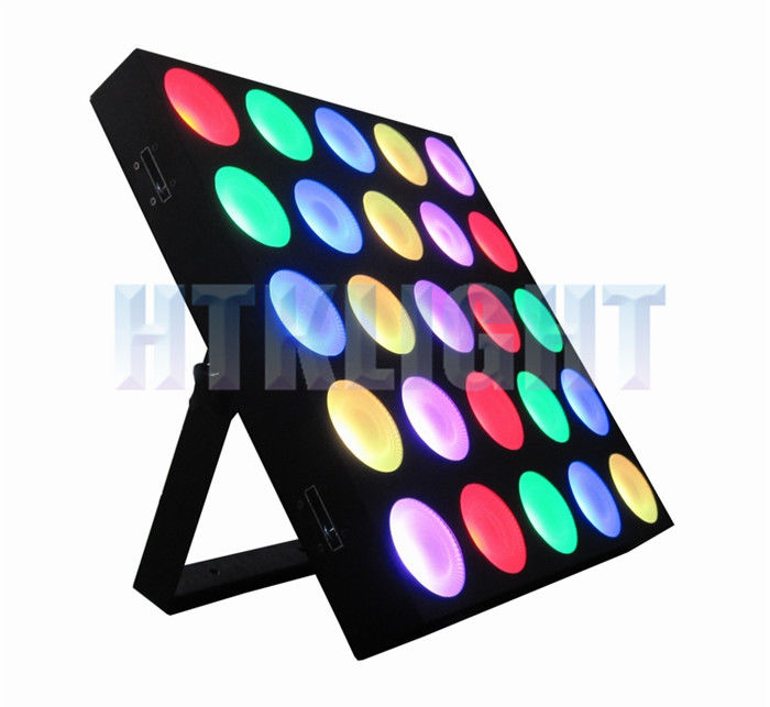 Professional Audience Blinder Led Rgb Stage Light 3 In 1 25*9W , Vibrant Chasing Effect