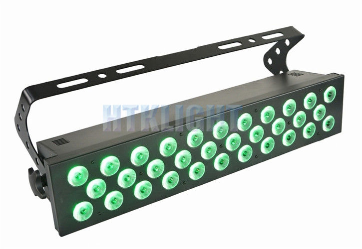 32 * 10W LED Stage Wash Lighting With 60 Degree Beam Angle Master Control