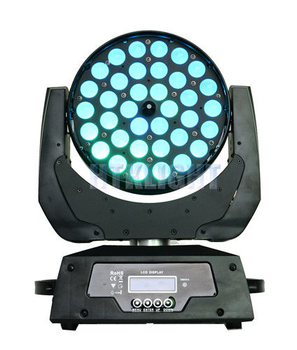 36*10W RGBW 4 in1 LED Zoom Beam Moving Head Stage Lights Auto - Run Control Mode