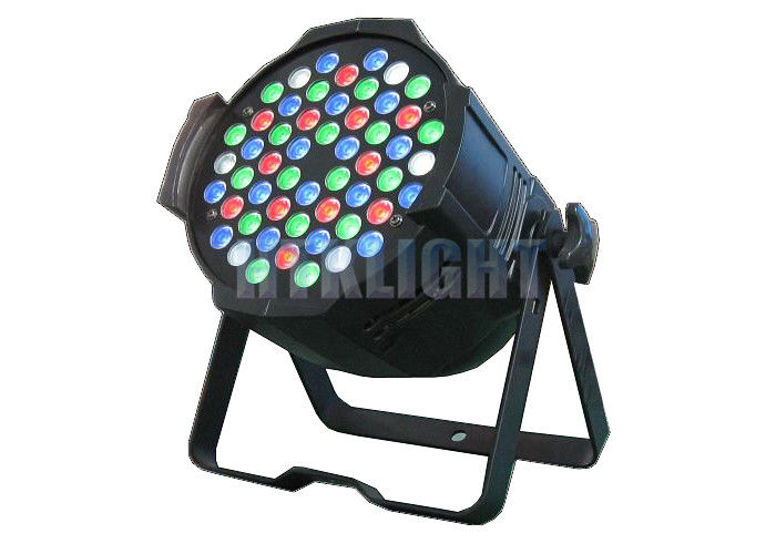 54 X 3W Ip20 Indoor RGB LED Stage Light For Theater , Event Energy Saving
