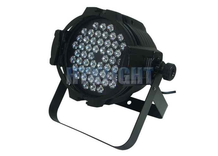 60Hz 7000K 54 X 3W Led Projector / Aluminum Housing Rgbw Stage Light