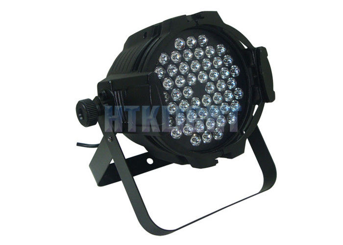 AC90V - 240V 54 pcs 3W RGBW LED Stage Wash Lights / LED Par Light