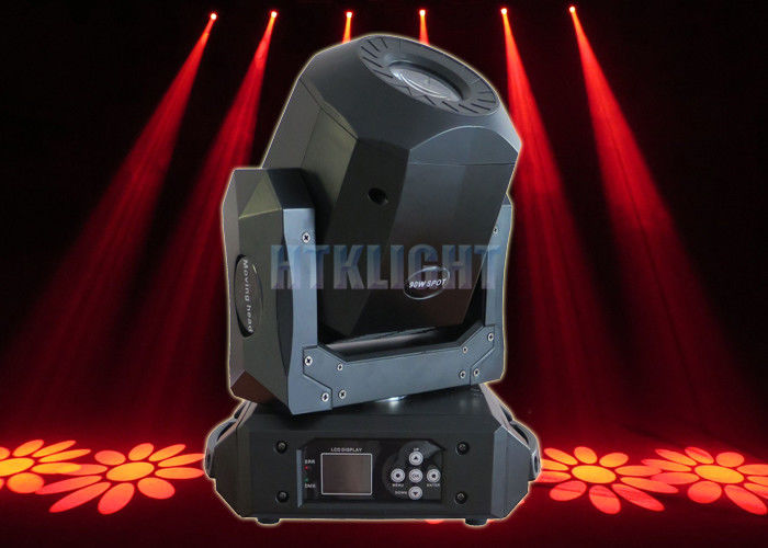 8500K 90W LED Moving Head Spot Light For Nightclubs / Stage 3 - Facet Prism Effect