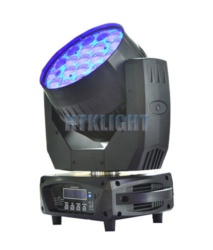 Vizi Wash Pro RGBW 19 X 15W LED Wash Moving Head For Theater High Efficiency