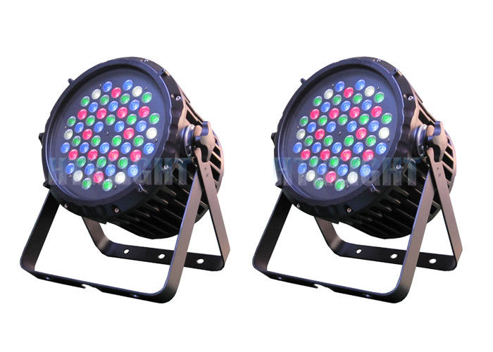 8ch RGBW Or RGB Waterproof LED Par Can With 35 Degree Beam Angle