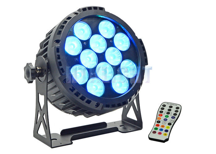 12x15watt RGBWA 5 IN 1 Battery Powered LED Spotlights With 15° Beam Angle