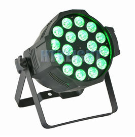 China Indoor RGB LED Stage Light , Led Stage Wash Lighting With Par Led 18x12w factory