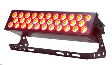 China Outdoor RGB LED Stage Light Rgb Led Wall Washer Lights 32*10W Quiet Working factory
