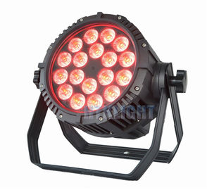 RGBW 6in1 18 X 12W Led Stage Par Light , Stage Lighting Led Par Can Lights