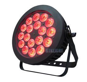 Air Cooling Waterproof LED Par Light 18x15W Stage Lighting Equipment For Dj Clubs
