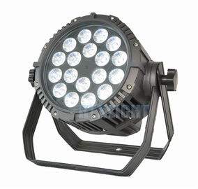 Advanced Optics Led Flat Par Light , RGBW Led Theatre Spotlights With Adjustable PWM