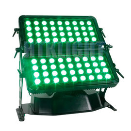 72*8W RGBW 4in1 City Color High Power Led Wall Washer , Dmx Rgb Led Flood Lights