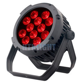 China Waterproof RGB LED Stage Light , Led Par Can Lights 12 Pcs 10W 240*240*140mm factory