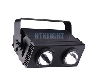 COB 200W RGBW Audience Blinder Lights 60 Degree Beam Angle 230x230x330mm
