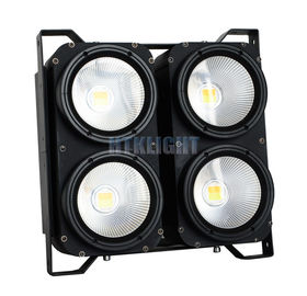 China White Audience Matrix Blinder Led Light 4x100W 3200K / 5600K Color Temperature factory