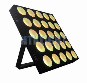 Powercon In / Out Stage Effect Light , 3in1 25*9W  LED Matrix Light 3 Degree Beam Angle