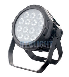 RGBW Theatre Lighting Led Rgb Par Can Light IP44 Quiet Working For Studio