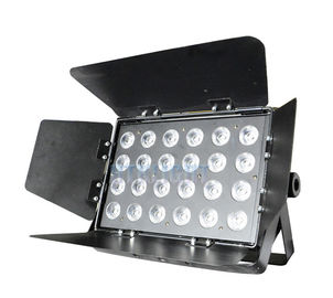 24 * 10W RGBW 4 in1 LED Blacklight For Stage , Theatre , TV Studios