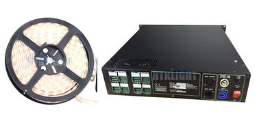 China Rack Mounted DMX 800W RGB LED Driver / Led Rope Light Controller factory