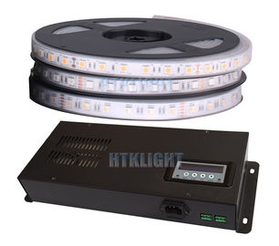 China 50Hz 300W RGB LED Strip DMX Controller Metal Housing In Black Color factory