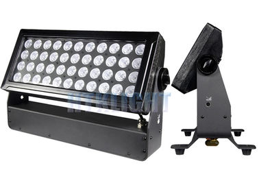 China P·5 POI 44 * 10W RGBW LED Flood Light Wall Washer For Tower , Bridge , Building factory