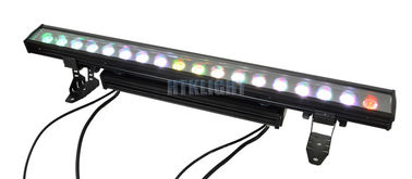 Linear LED Wall Wash Lights 18 X 10W RGBW For Events , Stage , Building