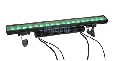 China 60Hz LED Flood Light Wall Washer , 18 x 10W Individual Control LED Linear Bar factory