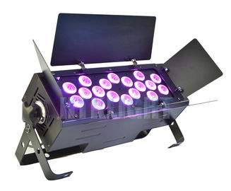 China Chauvet Ez Wash Hex Pack LED Theatre Spotlights 18 X 15W RGBWA 5 In1 Color Mixing factory