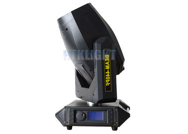 China AC 100V Stage Moving Head Light With High Efficient Heat Resistant Optical Lens factory