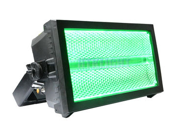 China 228 X 3W White LED Stage Effect Light , DMX Controlled Strobe Light factory