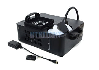 China 60Hz Stage Effect Light , ADJ Fog Fury Jett Pro 21X3W RGB 1500W Fog Machine With LED Lights factory