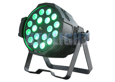 China Dled Par Zoom 18x10Watt RGBW 4 In 1 Wall Wash Spot Lights With 15 Degree Beam Angle factory