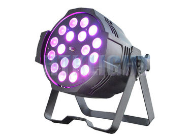 China 18x18W RGBWA + UV Arena Par Zoom Elation Led Theatre Spotlights Sound Control Mode factory