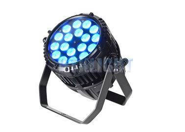 China TV Studio 54 Led Par Light 18x12 W 60 Degree Beam Angle Energy Efficiency factory