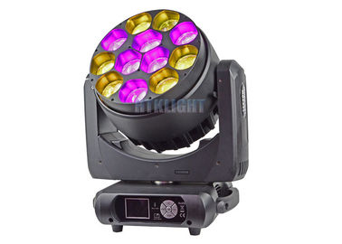 China 12X40W LED Zoom Wash Moving Head For Events , Theater , Party CE RoHS factory