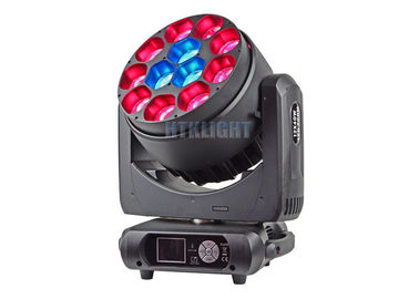 China IP 20 LED Stage Moving Head Light 12X40Watt Rgbw 4 In 1 Beam Angle 50 Degree factory