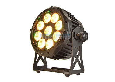 China 9 X18W RGBWA Led Par Can Light Sound / Auto Control Mode Easy Operation factory