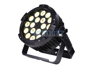 China Warm White LED Par Can Light 18X15w Rgbwa 5 In 1 For Stage Performance factory